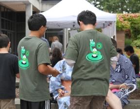 The volunteer t-shirts